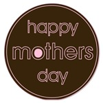Happy Mother's Day - Brown & Pink