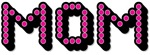 Pink Disco Dots Mom