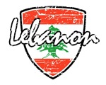 Lebanese distressed Flag