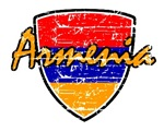Armenia distressed Flag