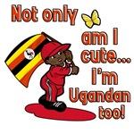 Not only am I cute I'm Ugandan too!
