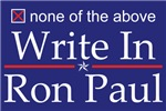 Write In Ron Paul