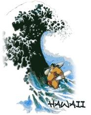 Hokusai Sumo Surfer