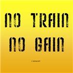 No Train No Gain