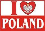 I Love Poland / Polish Flag