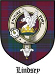 Lindsey Clan Badge / Crest / Tartan