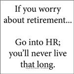 Human Resource retirement