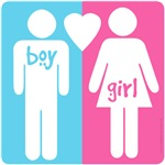 BOY HEART GIRL t-shirts and gifts