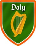 Daly Irish Badge