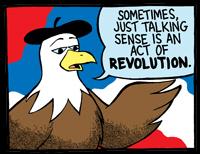 Joe the Liberal Eagle