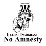 No Amnesty Blk / Wht