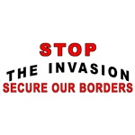 Immigrant Stop The Invasion
