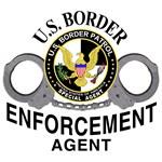 U.S. BORDER ENFORCEMENT AGENT BORDER PATROL T-SHIRT