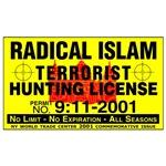 Terrorism Hunting Permit