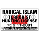 Terrorism Hunting License