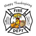 Thanksgiving Firefighter