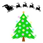 Santa's Christmas Ride On T-Shirts & Gifts For The