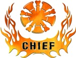 Chiefs Blazing Flames Personalized T-Shirts &amp; Gifts!