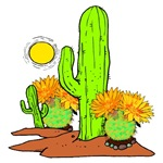 Desert Cactus and Southwestern Theme Gifts!