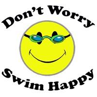 Swim Happy  t-shirts & gift