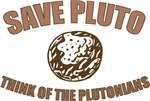 Save Pluto Think Of The Plutonians