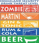 Homeland Security Drink Threat Level