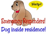 Emergency Responder Dog Alert