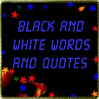 Atheist, Freethinker, Non-Belief Black/White Words