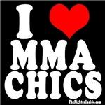I LOVE MMA CHICS