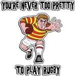 Funny Rugby Player T-Shirts Gifts