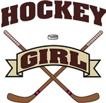 Hockey Girl T-Shirts Gifts