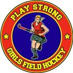 Girl's Field Hockey T-Shirts Gifts