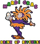 Mardi Gras Drink Up Bitches T-Shirts & Gifts