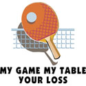 Table Tennis T-Shirt & Gifts