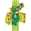 Soccer Girl T-Shirt & Gifts