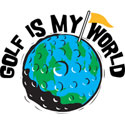 My World Is Golf T-Shirt & Gifts
