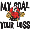 Hockey Goalie T-Shirt and Gifts