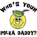 Funny Polka Mens T-Shirts