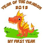Born Year of The Dragon 2012 T-Shirt
