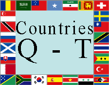 Countries Q - T