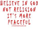 GOD NOT RELIGION