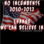 No Incumbents T-shirts