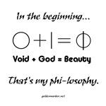 0+1=Phi-losophy