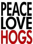 PEACE LOVE HOGS