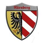 Nuremberg Germany Metallic Shield