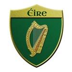 Ireland Metallic Shield