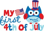 Owl My First 4th of July
