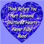 Shattered Heart Blue Boy