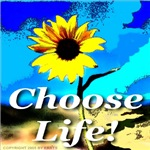 Choose Life Pure White