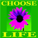 Choose Life Purple Passion